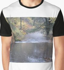 Streaming Waterfall Graphic T-Shirt