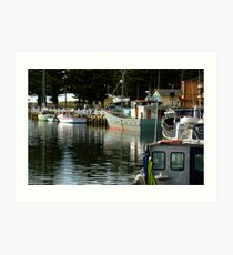 Safe Harbour Art Print
