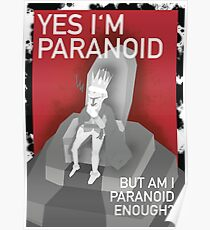 The Paranoid King Poster