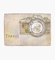 Reise Fotodruck