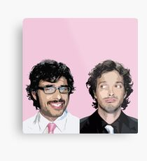 Flight of the Conchords 4 Metal Print