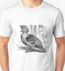 Painted image of a bird Unisex T-Shirt