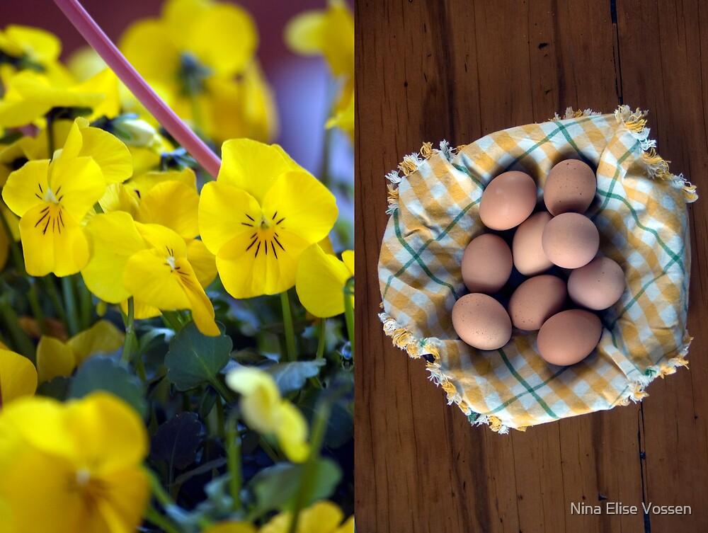 Happy Easter 2. by Nina Elise Vossen