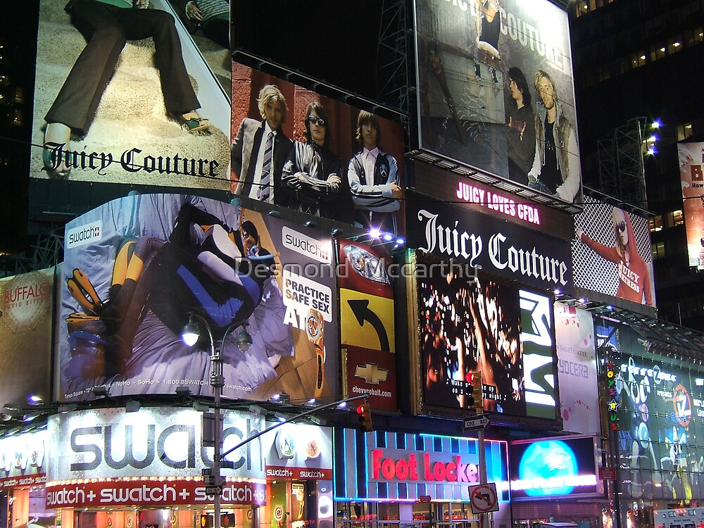 time square by Desmond  Mccarthy