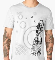 L'inconnu à la guitare  T-shirt premium homme