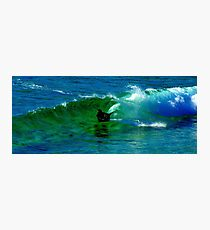Boogie Boarding Photographic Print