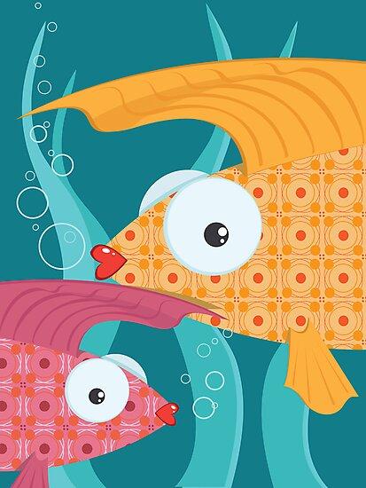 Ornate tropical fish by oksancia