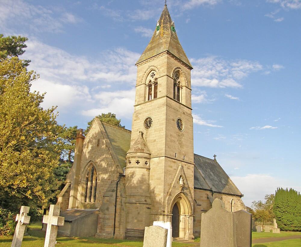 Holy Saviour Milbourne  Northumberland by jay12