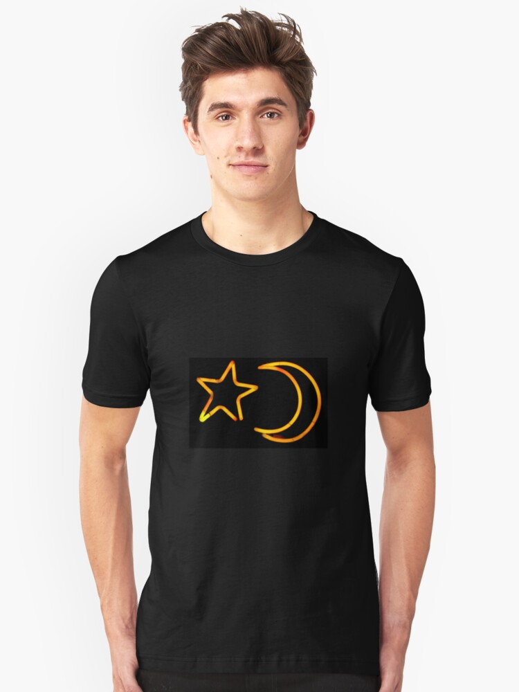Moon & Star Unisex T-Shirt Front