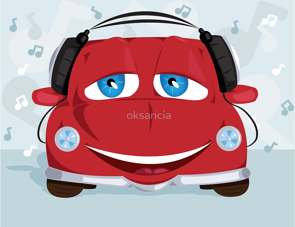 Car music lover by oksancia