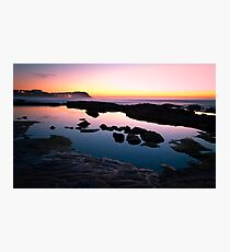 Merewether Ladies Ocean Pool Reflections Photographic Print