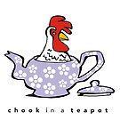 chook in a teapot by Matt Mawson