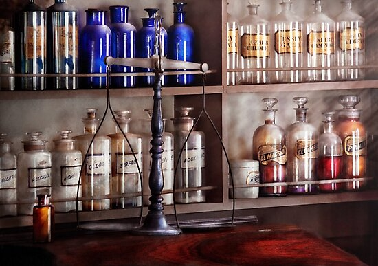 Pharmacy - Apothecarius  by Michael Savad