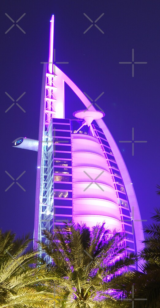 Burj Al Arab Hotel in Dubai by Peter Green