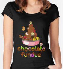Fondue Fun Women's Fitted Scoop T-Shirt