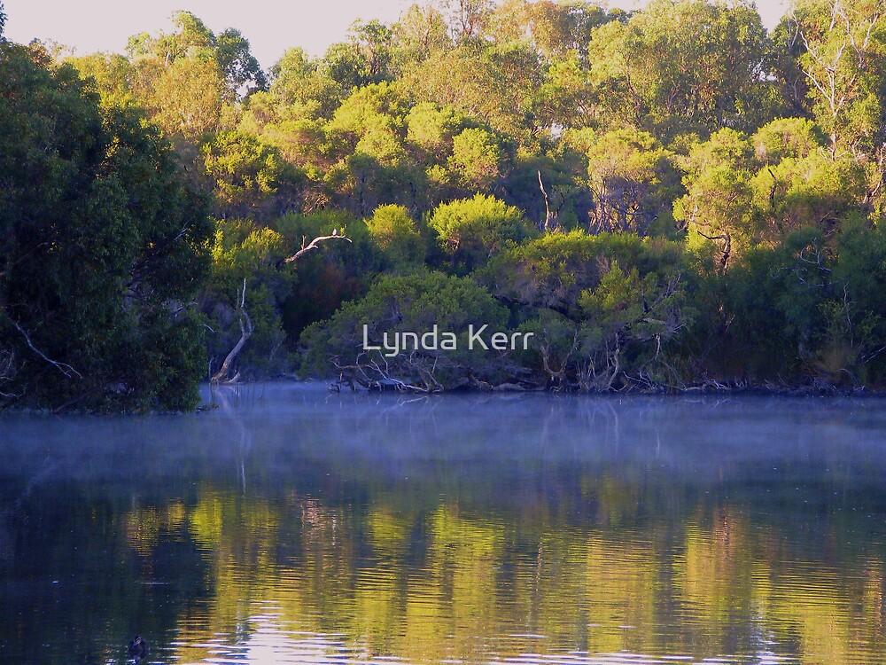 Eerie Morning Mist by Lynda Kerr