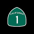 California Highway One - Legendary #1 Road Trip Cell Phone Case Cover Skin by deanworld