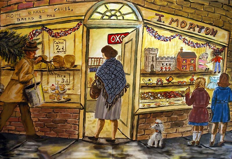 The corner shop by MayWebb