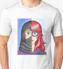Captain Macho and Mother Justice Unisex T-Shirt