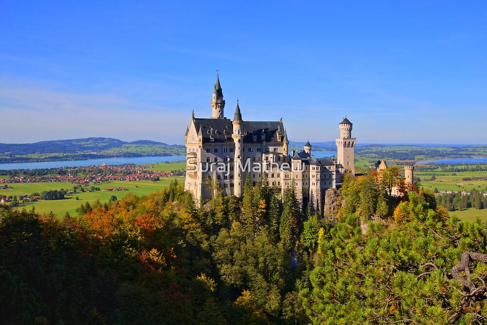 Schloss Neuschwanstein, Fussen, Bavaria by Suraj Mathew