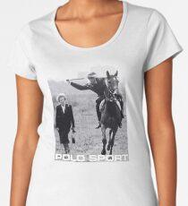 THATCHER IS DEAD BOOTLEG Women's Premium T-Shirt