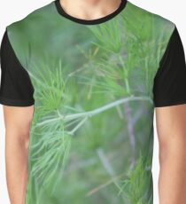 Fennel weed (Foeniculum vulgare) Graphic T-Shirt