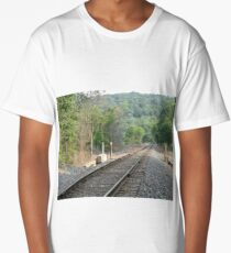 Track Into The Mountain Long T-Shirt