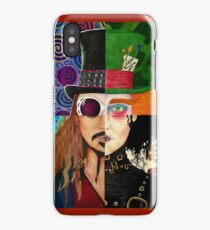Johnny Depp Character Collage iPhone Case