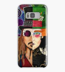 Johnny Depp Character Collage Samsung Galaxy Case/Skin