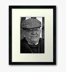 Cheese Man Framed Print