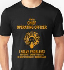CHIEF OPERATING OFFICER Unisex T-Shirt