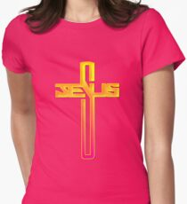 Jesus Cross Christian Graphic T-Shirt
