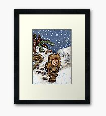 Get The Ugly One! Framed Print