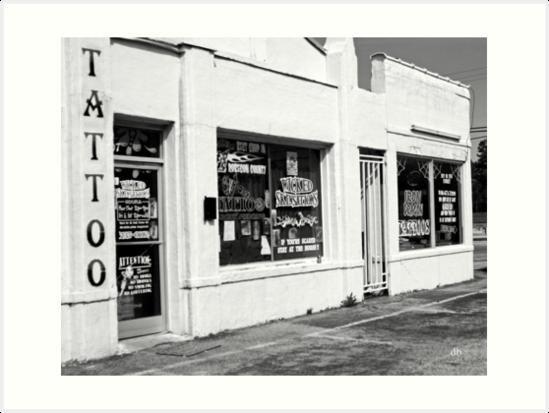 tattoo by daniels