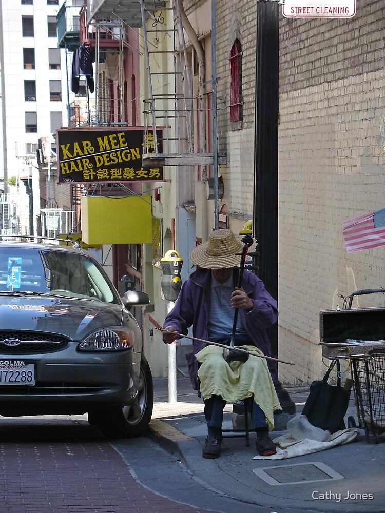 Chinatown Musician by Cathy Jones