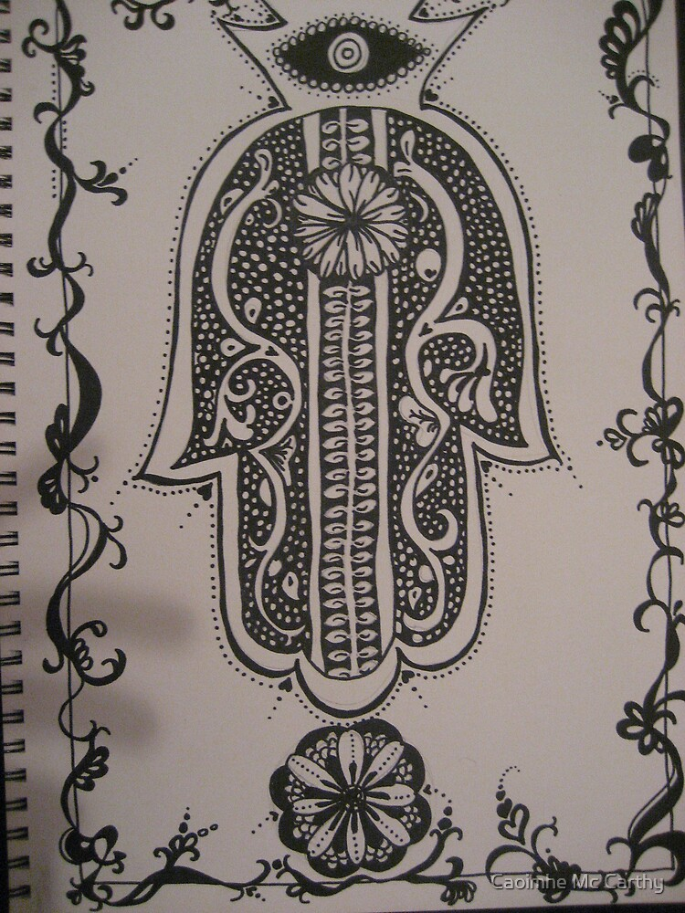 Ink Hand by Caoimhe Mc Carthy