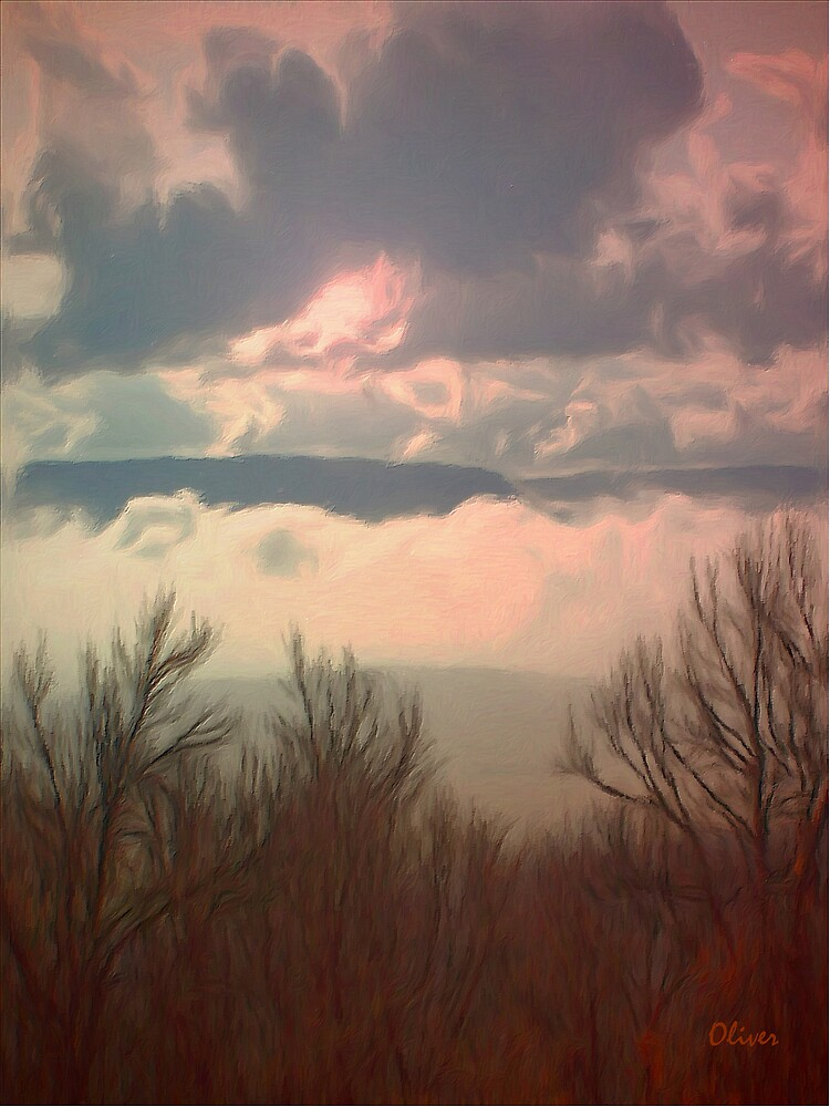 Early Spring Skies by Charles Oliver