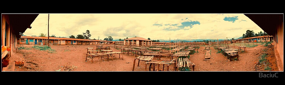 Kisoro empty market by BaciuC
