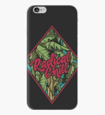 Distressed Radical Chill Graphics iPhone Case