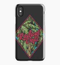 Distressed Radical Chill Graphics iPhone Case/Skin