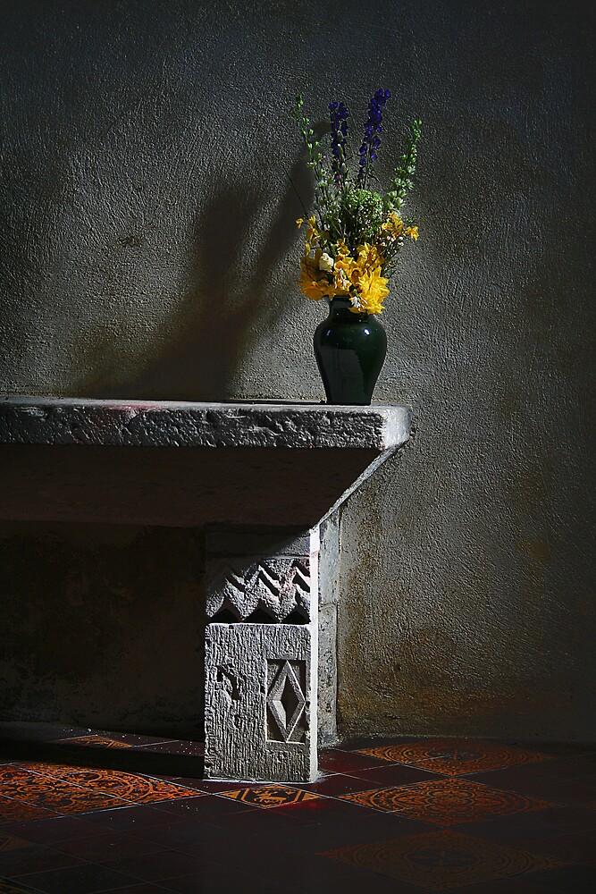 Vase of Flowers by Anthony Thomas