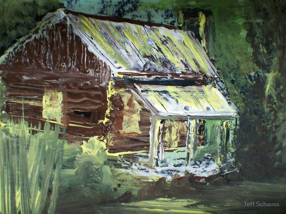The Old Cabin by Jeff Schauss