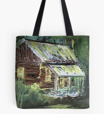 The Old Cabin Tote Bag