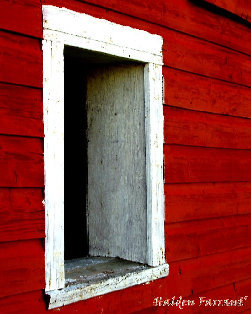 Barn Window by Halden