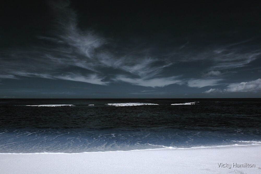 Three Tables (Infrared) by Vicky Hamilton