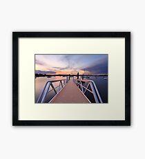 Sunset at Saratoga Australia Framed Print