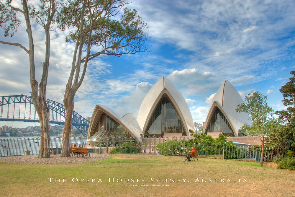 The Opera House - Sydney, Australia (Photo Finish) by Brian Farrell