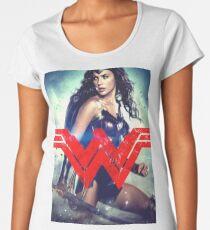 Super Woman Gal Gadot Women's Premium T-Shirt