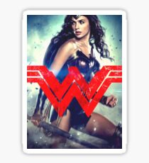 Super Woman Gal Gadot Sticker
