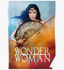 Super Woman Gal Gadot Poster